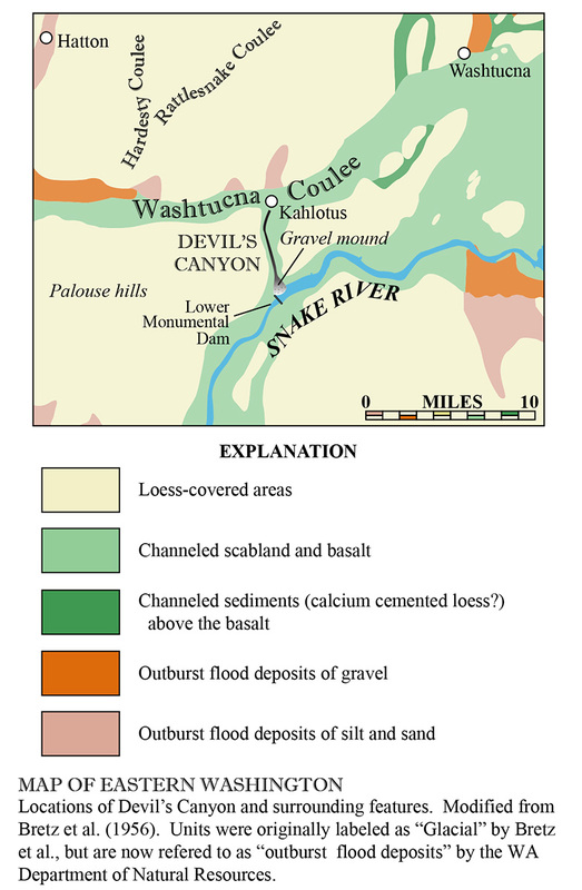 Devil's Canyon Geologic Map
