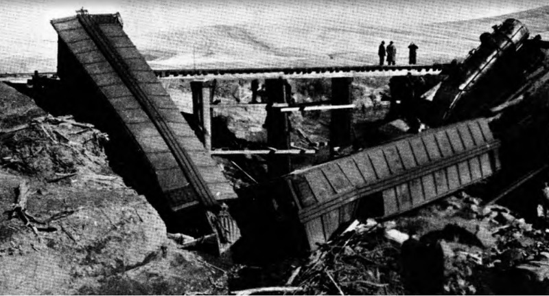 Pomeroy Railroad Train Accident of 1939