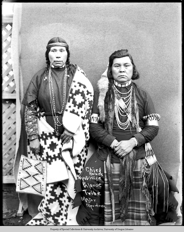 Chief Bones and his wife